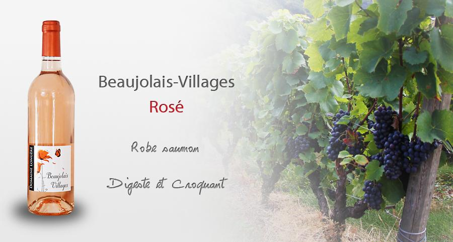 beaujolais village rose 3